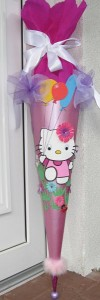 Hello Kitty Luftballon Schultüte